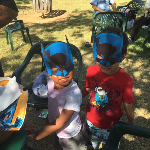 BirthdayParty-CraftonPark - kids in batman masks.jpg