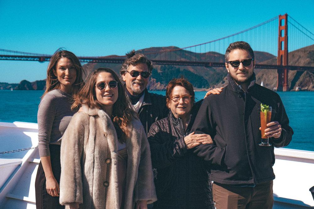 Family minus photographer Doug