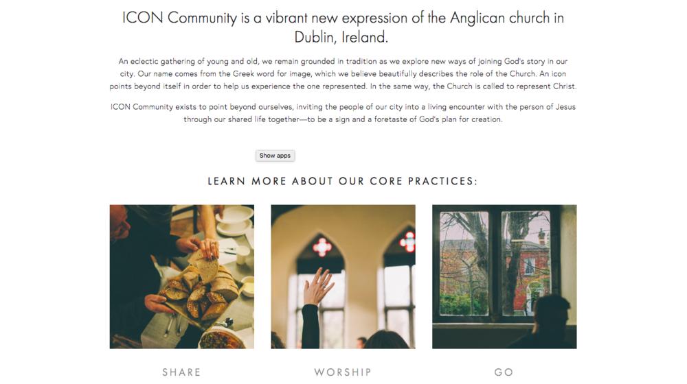 ICON Community Copywriting