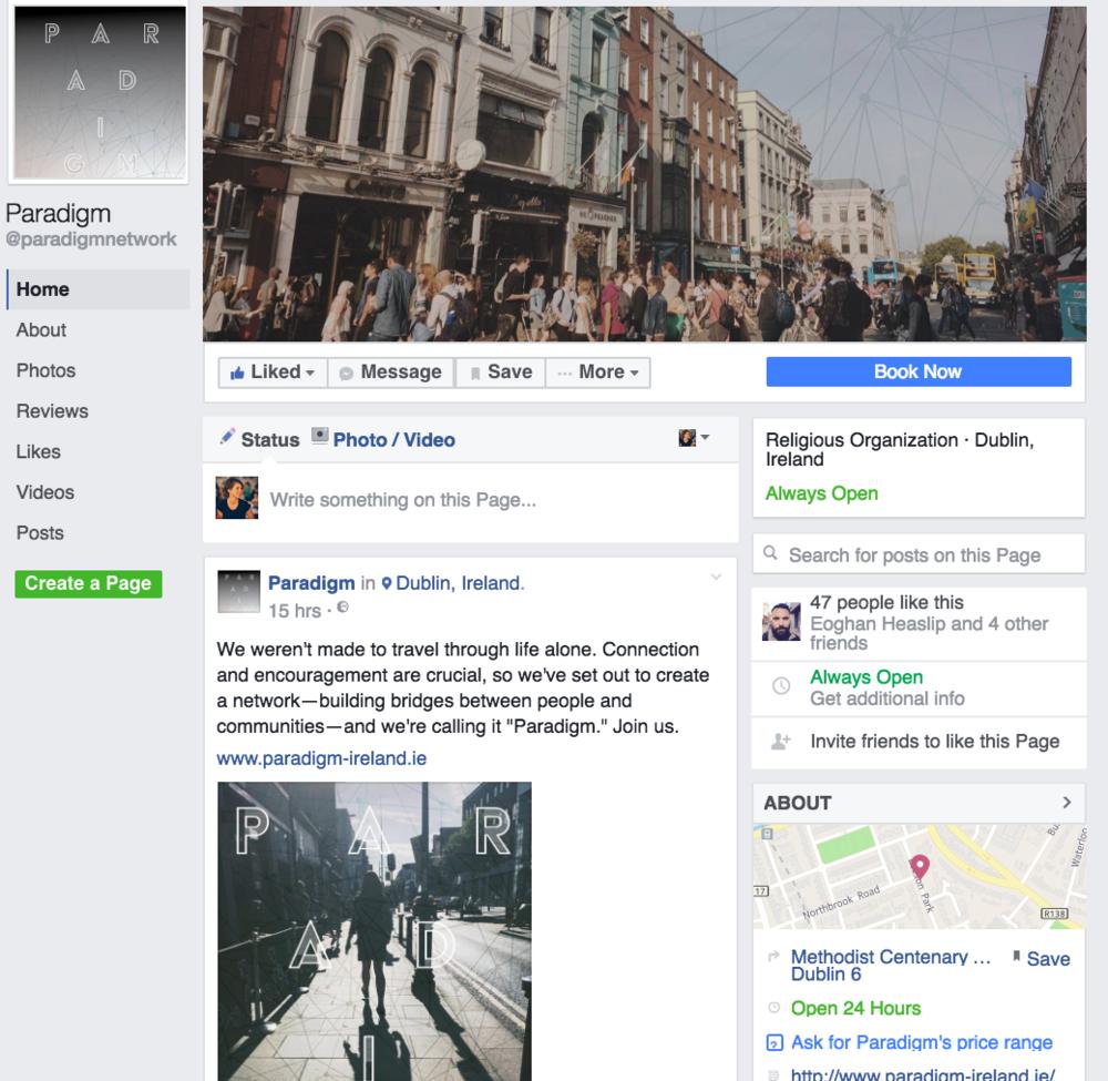 Paradigm Facebook