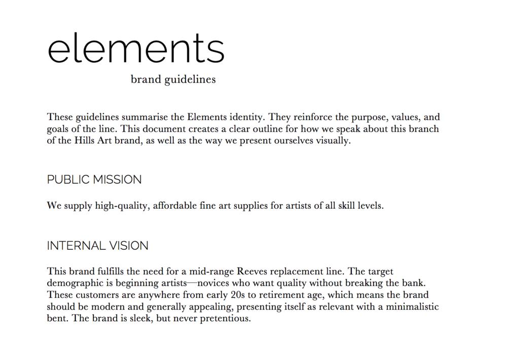 Elements Branding