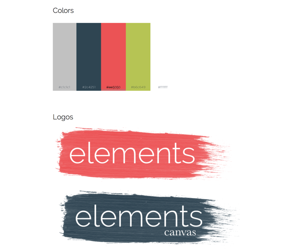Elements Brand Guidelines