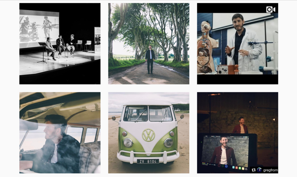NUA Film Series Instagram