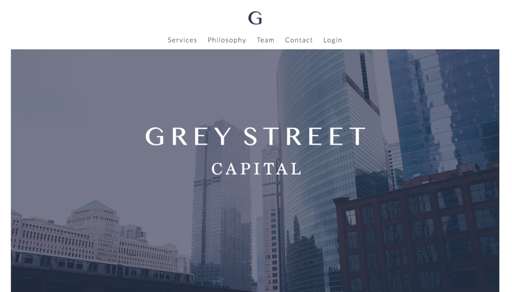 Grey Street Capital Copywriting