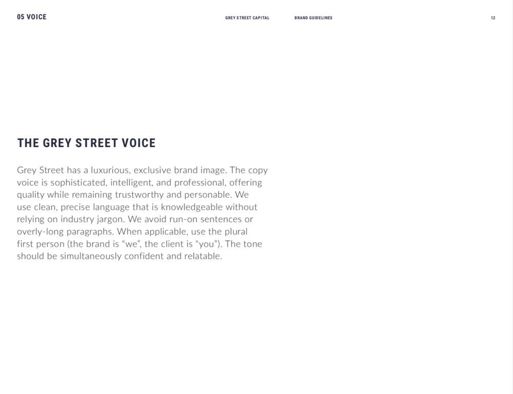 Grey Street Voice