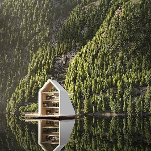 LU loves ••• Uniquely different commercial #architecture | This restaurant at the Grand Hotel is the work of @alex_nerovnya | #travel goals 🙌| RG via @designboom . . . . . . . . . . #commercialarchitecture #restaurantdesign #restaurantinspo #uniquelydifferent #lilyurban #restaurantsofinsta #norway