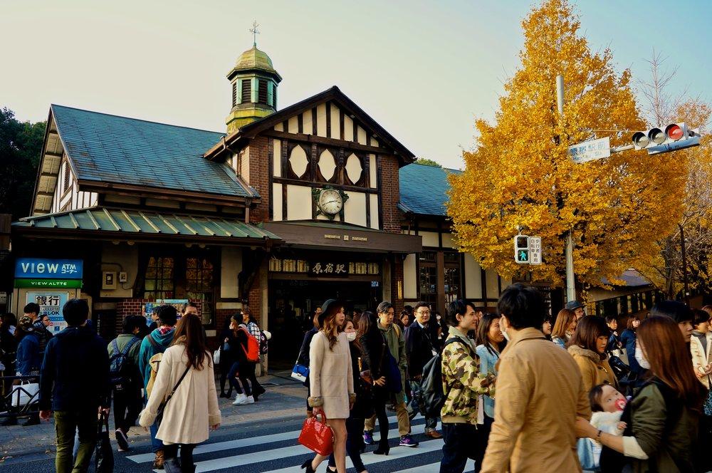 Harajuku station, Tokyo