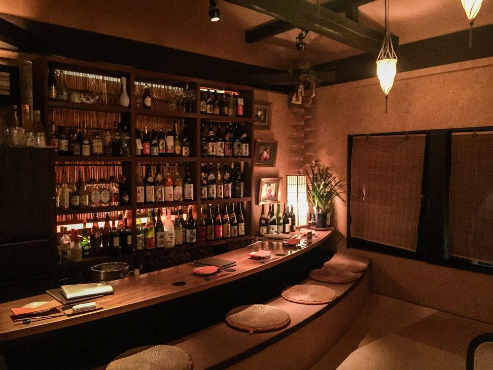 Restaurant in Pontocho, Kyoto