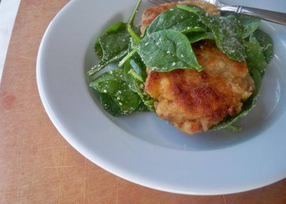 caroline's kitchen table - chicken parmesan
