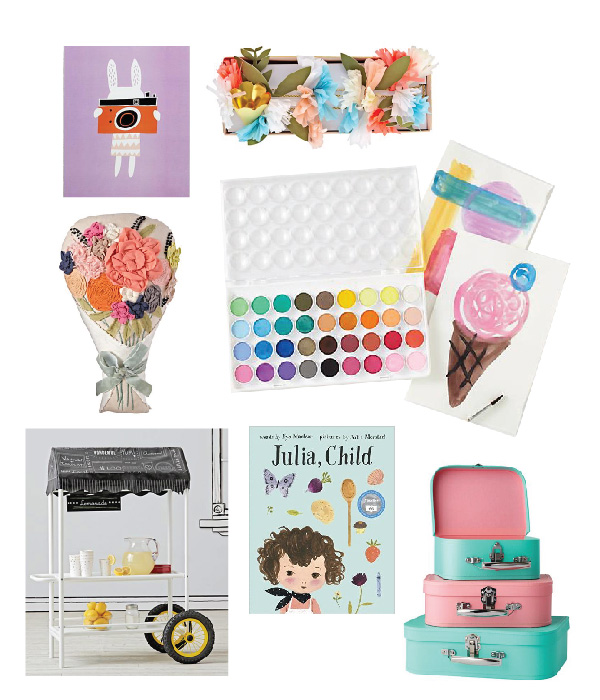 Cake & Flower Paper / Land of Nod Event