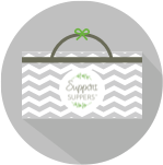 Support Suppers Custom Bag Artwork