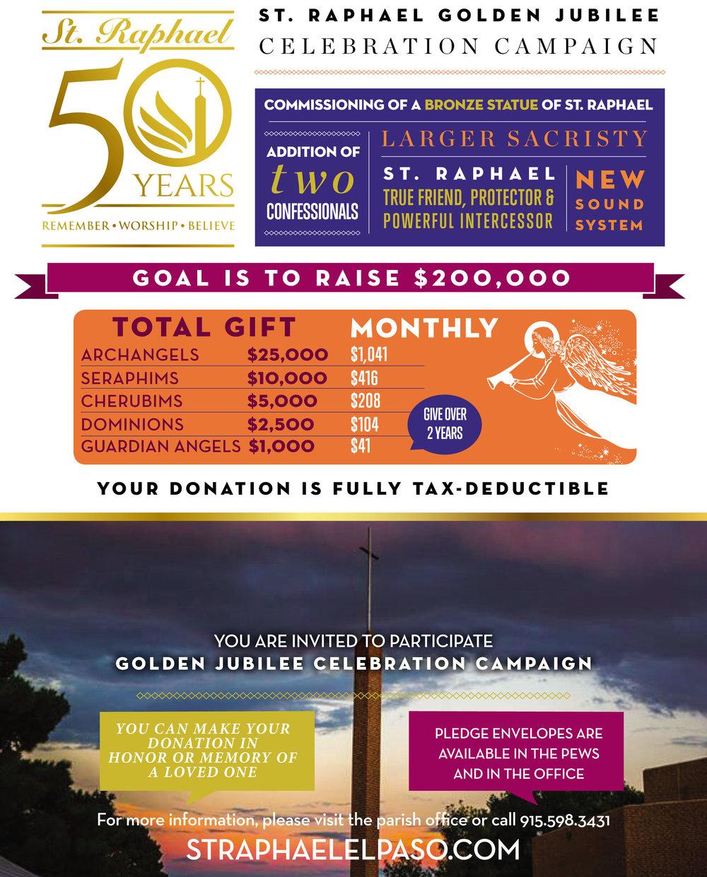 St Raphael Golden Jubilee Campaign.jpg