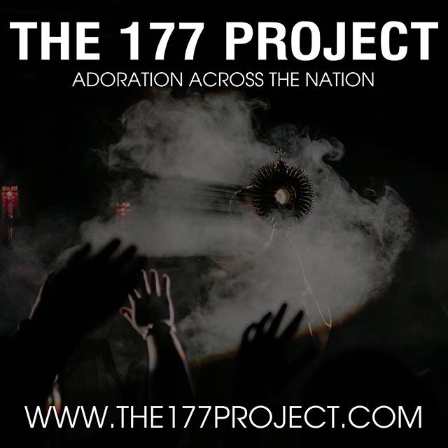 Mark your calendars for 8 WEEKS from today! • This fall, the 177 Project is partnering with 22 different artists to bring an evening of Eucharistic Adoration and music to every single diocese in the US! • On November 29th, the 177 Project will be in the @elpasodiocese with @johntibbsmusic and @benwagnermusic at St. Raphael Parish, and we want you to join us.  Tickets to the evening are completely FREE and you can get yours by visiting the177project.com.
