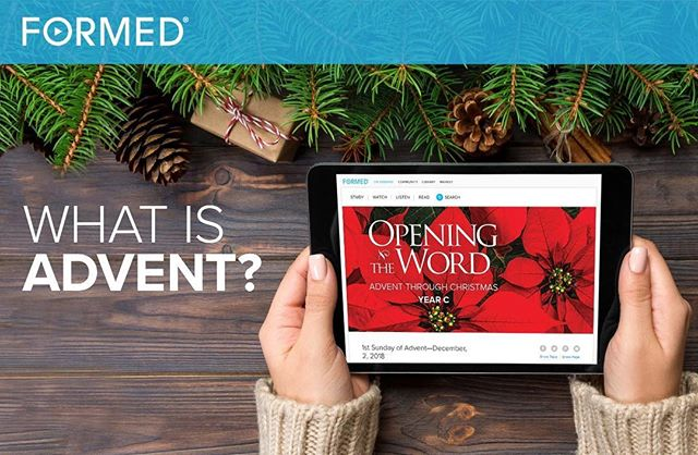 Visit formed.org to sign up for Advent Reflections this season!  Remember, all St. Raphael parishioners can create a FREE account on Formed. To create your free account, visit straphaelelpaso.com/formed for instructions. #StRaphaelElPaso