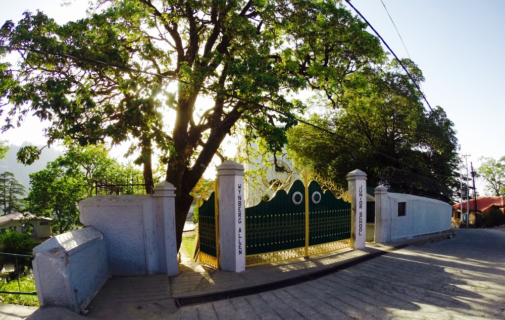 Main Gate of Wynberg-Allen Junior School.