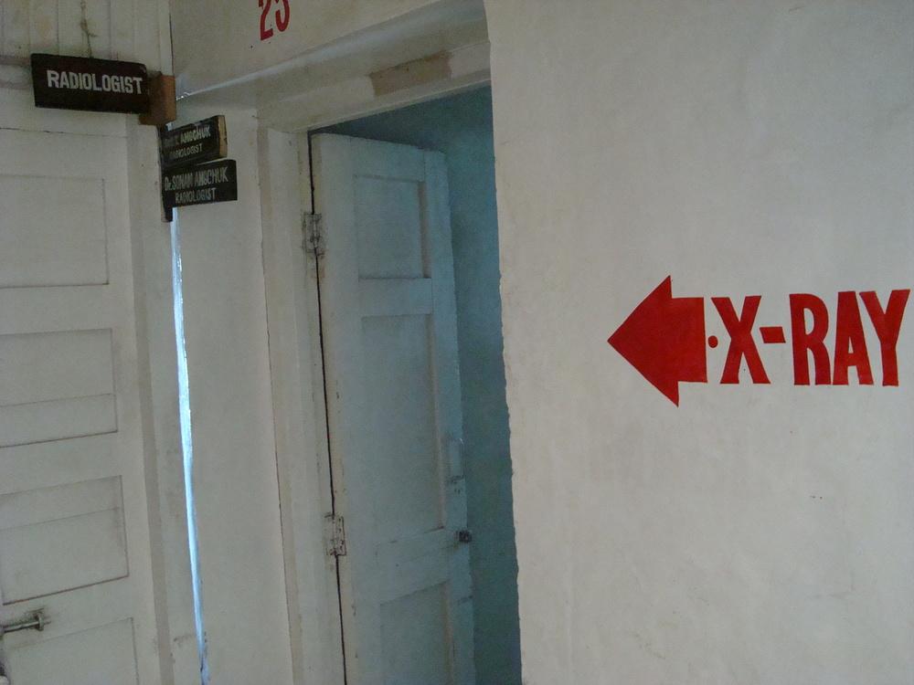 Medical facilities at Leh