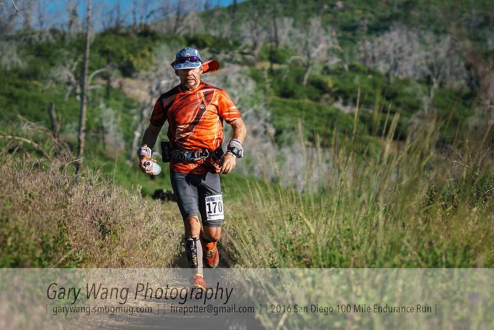 Grant at San Diego 100 mile Endurance Run