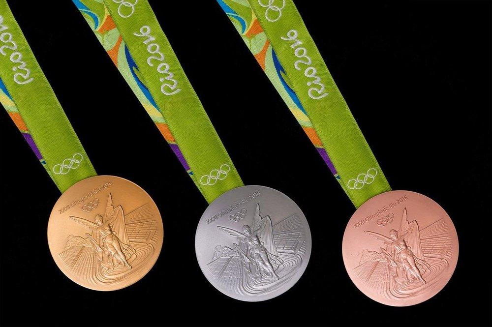 Rio Olympic medals (via Gineersnow.com)