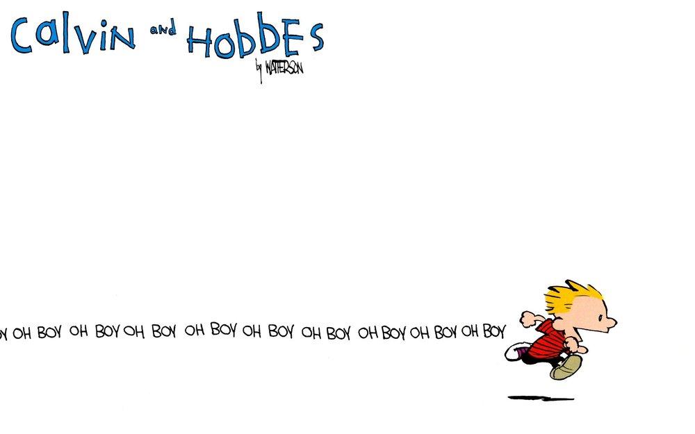 Calvin runs