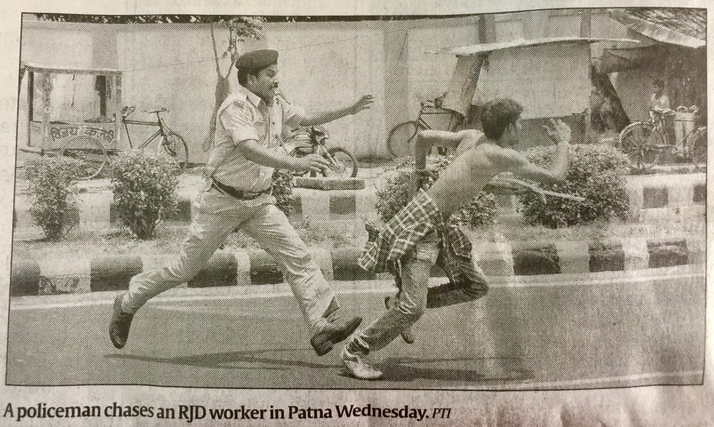Pic from Indian Express, 18th May Day