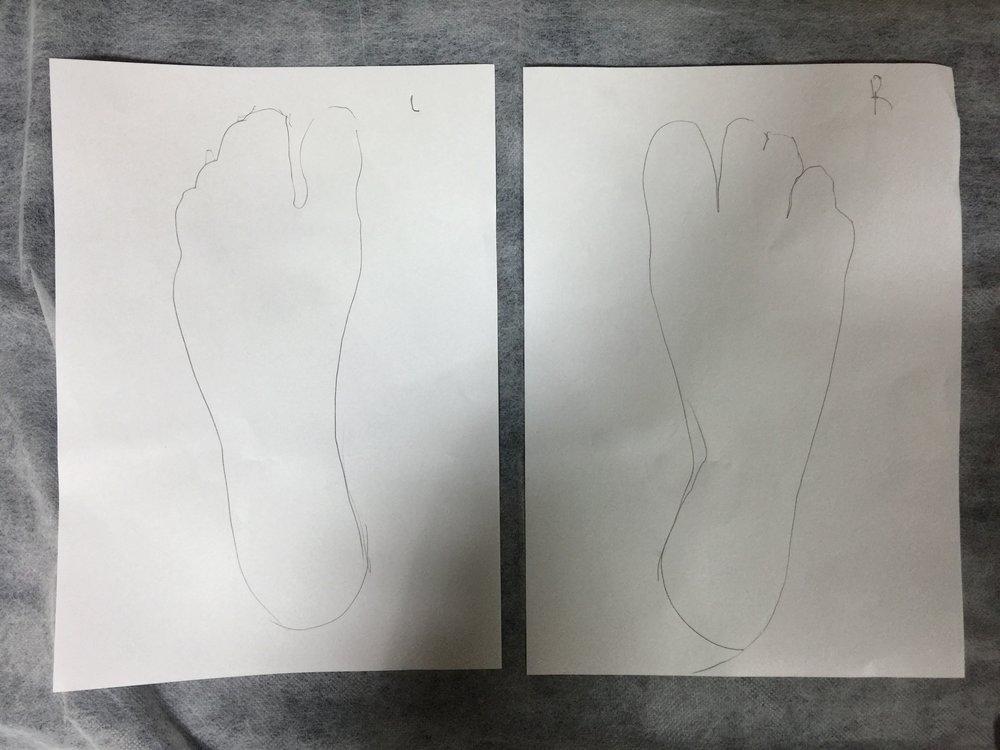 Feet Outline