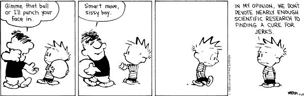 Calvin & Hobbes Bullies 2
