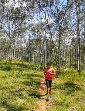 Sindhu Rao - I attempted my first 90km run at Vagamon Ultrail in January. I got my periods night before the race day. After running approx 60kms, I decided to drop out since cramps from period caused too much pain. As someone who is finding ways to be environment-friendly, I am happy that I was able to run that distance with a reusable menstrual cup.