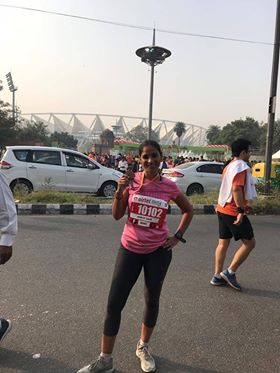 Ranjit Kaur - Sometimes if you run hard, tampons might slip. But its not often.My heartbeat is higher during periods.Sensitive stomach on first 2 days definitely forces one to reduce their miles.Taking an off seems like the best thing to do.