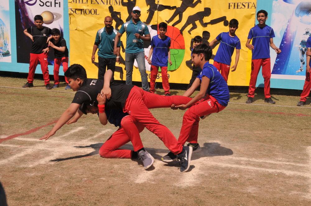 The Millennium School Sports Day 2