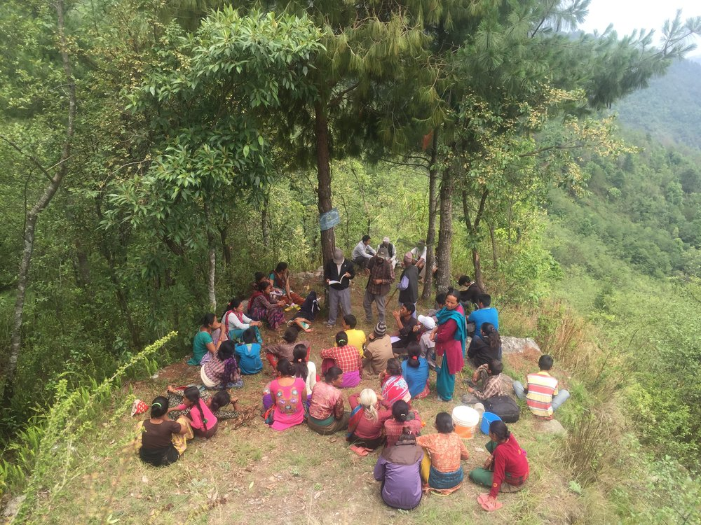 Community Forest User Group Meeting, Dolakha District, Nepal