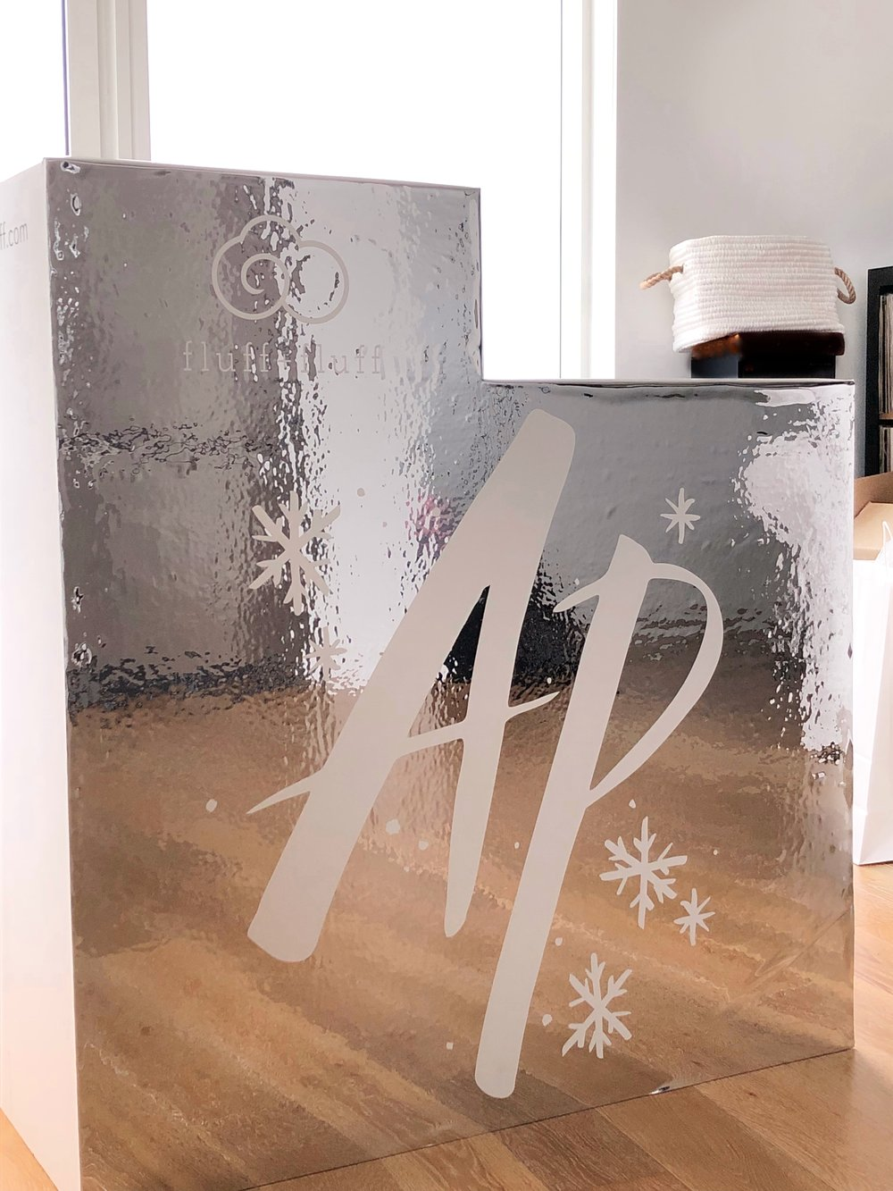 Mirrored Counter Wrap with artwork