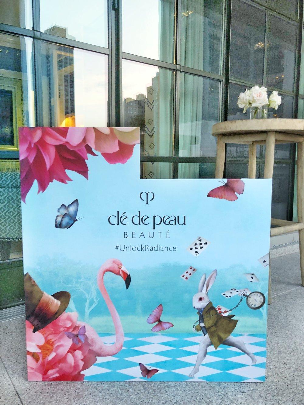 Clé de Peau Beauté Alice in Wonderland inspired Counter