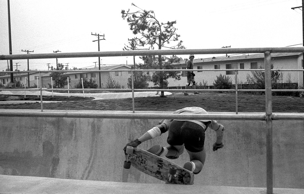 Brad Williams, Skatopia, Buena Park, CA, 1976