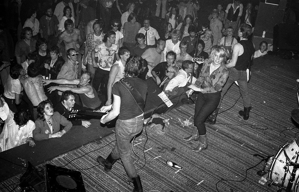 The Avengers, The Temple, San Francisco, CA 1978