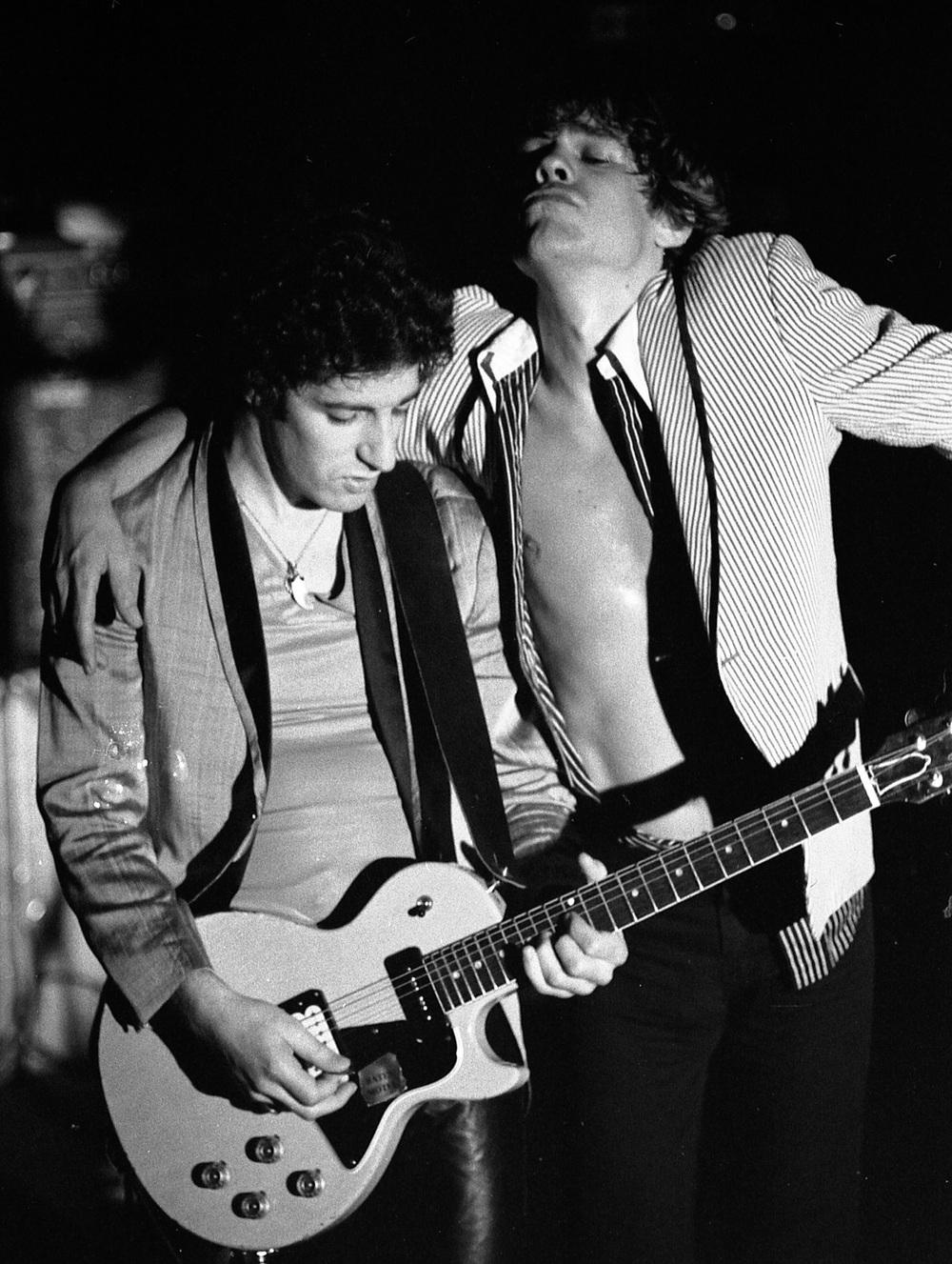 David Johansen, Sylvain Sylvain, Whiskey A Go-Go, Hollywood, Ca. 1978
