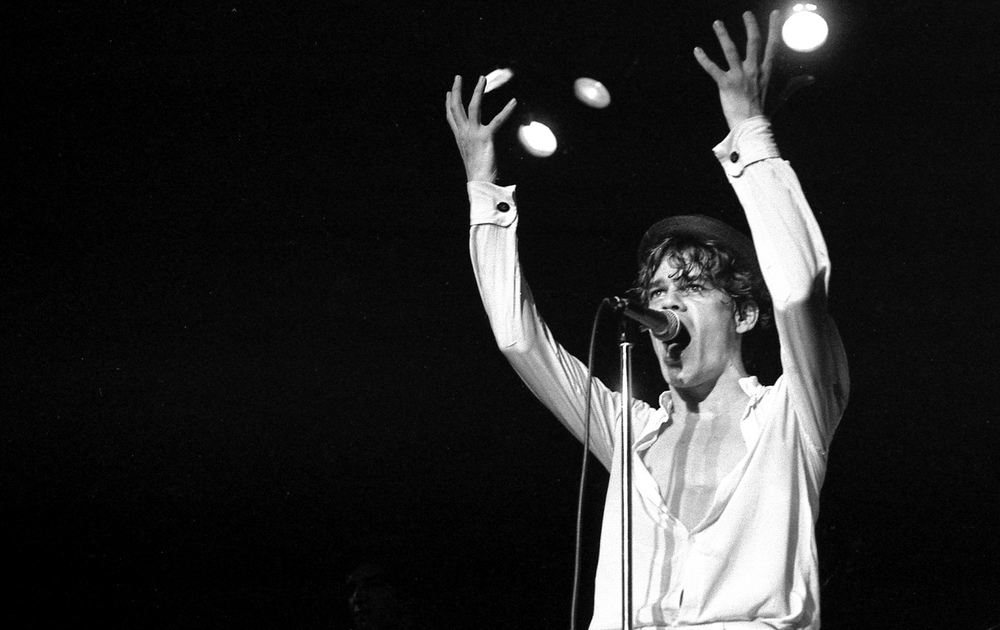 David Johansen, Whiskey A Go-Go, Hollywood, Ca. 1978