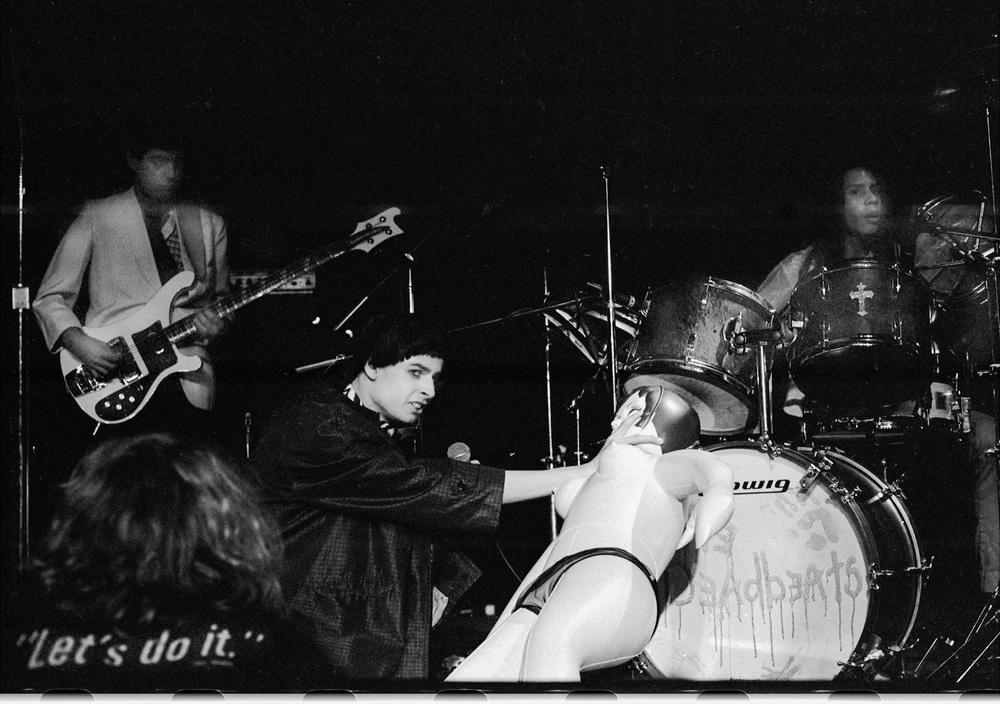 The Deadbeats, Whiskey A Go-Go, Hollywood, Ca. 1979