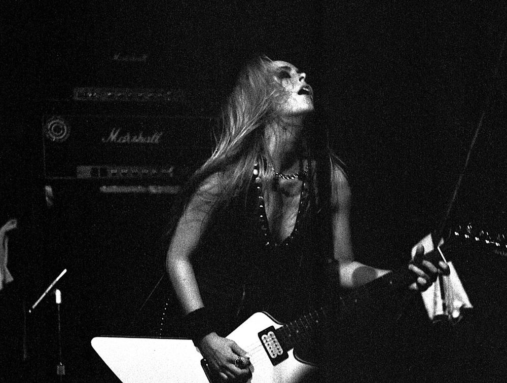 Lita Ford, Stardust Ballroom, Hollywood, CA. 1977