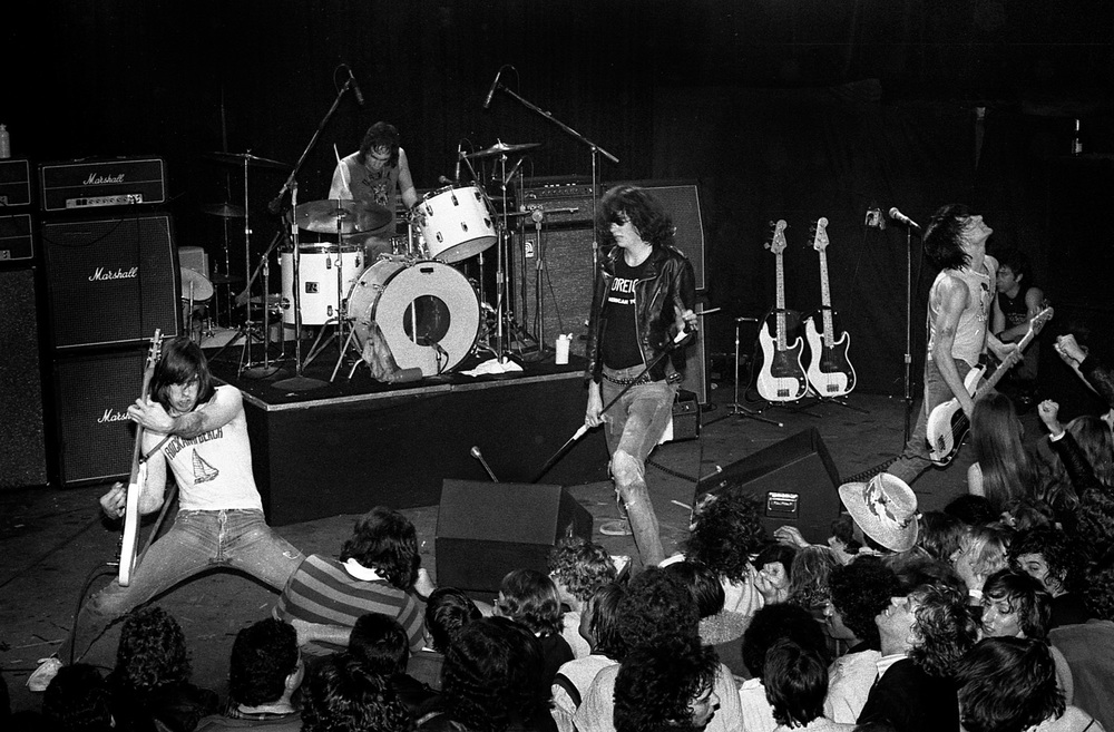 The Ramones, Whiskey A-Go-Go, Hollywood, Ca. 1978