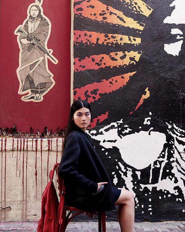 Dichotomy. - #model Hanna @dollhousemgmt #fashion #political #politicalfashion #stylist @stephaniexcollinge #editorialphotography #fashionphotography #redlipassassin #janicequijano .com