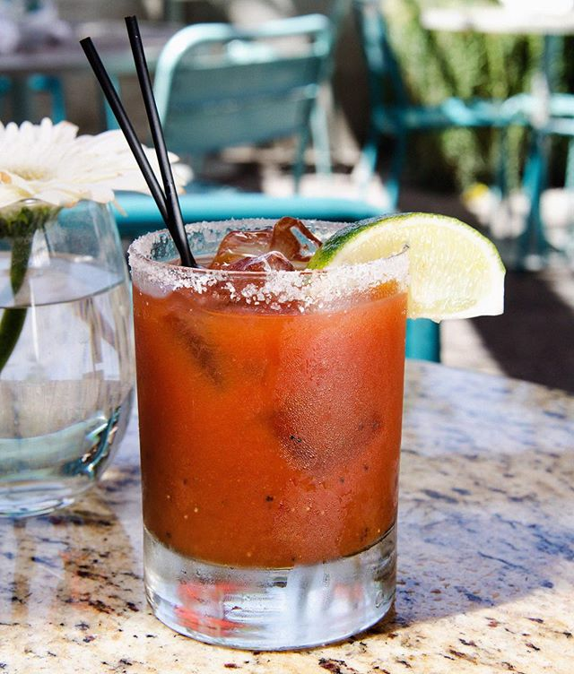 Sunday's go best with 'Bloody Mary's. - happy Easter.  @sunnyspotvenice