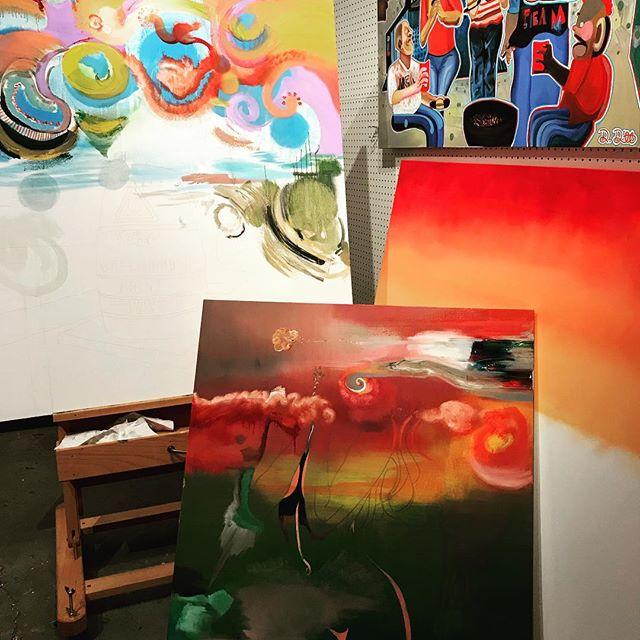 #sunrisestudiosessions #worksinprogress #a&h #maitland #nationalhistoriclandmark #damondewitt