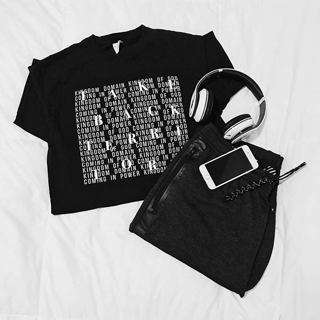 Anyone else's Saturday night consist of a little music 🎵 , a little instagram 📱, and a lot of comfy clothes?! 🧦 ft. a rad tee we printed ⭐️ #SaturdayNight #SaturdayNightShenanigans #ComfyClothes