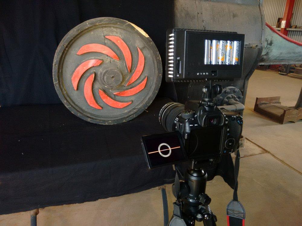 filmingDonnareidobjectGwaliamuseum.jpg
