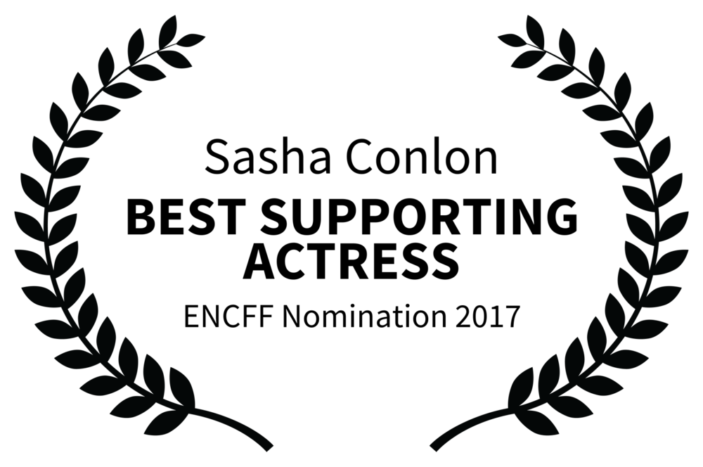 Sasha Conlon - BEST SUPPORTING ACTRESS - ENCFF Nomination 2017.png