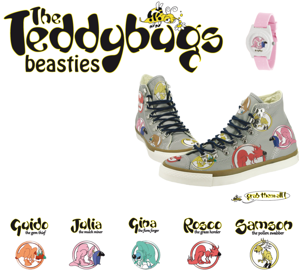 THE TEDDYBUGS BEASTIES