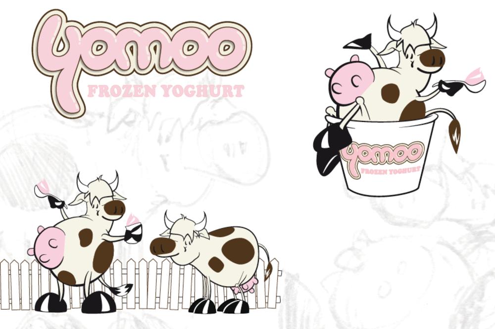 YOMOO LOGO DESIGNS