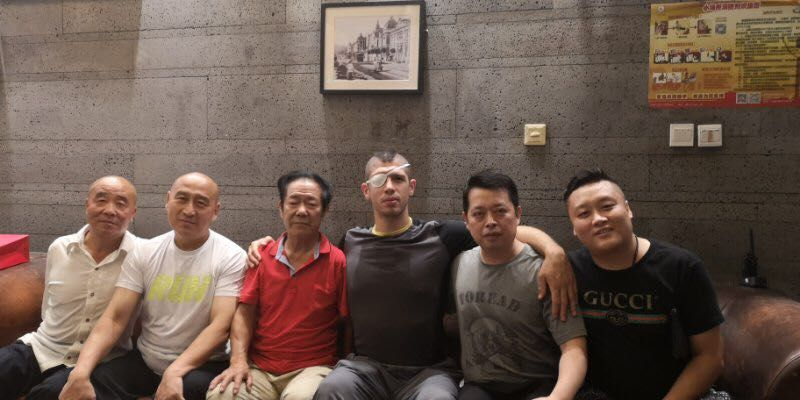 First Day in Beijing: Master Ni, Master WangQi, , Joey, , LiuJa