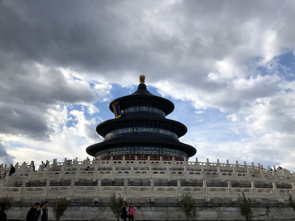 The Circle Mound at the Temple of Heaven. The Temple of Heaven (TienTan) in Beijing is where Joey returns twice a year to study KungFu with his numerous masters.