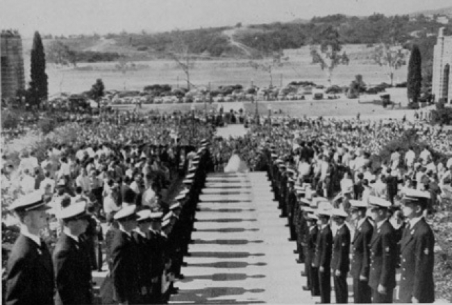 Homecoming 1952 -- Courtesy of the UCLA Department of Naval Science